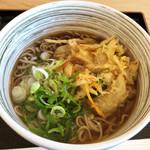 koi koi 食堂 - 料理写真:地元野菜のかき揚げそば