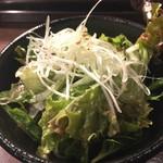 TOKYO 焼肉 ごぉ - チョレギサラダ。ドレッシング美味しい♪