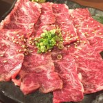 TOKYO 焼肉 ごぉ - ハラミ刺