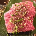 TOKYO 焼肉 ごぉ - 特選和牛厚切りヒレ