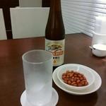 華正樓 - ビール お通し付