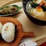 お味噌汁食堂そらみそ - おにぎりとお味噌汁、日本の心