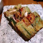 韓国料理 水刺齋 - 海鮮ネギチジミ