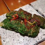 韓国料理 水刺齋 - ニラチジミ
