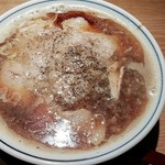 ラーメン凪 - ふつうに煮干ラーメン850円