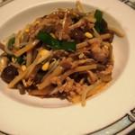 シルクロードガーデン - 豚肉と野菜の焼そば