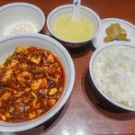 陳麻婆豆腐 - 麻婆豆腐定食