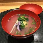 和食 なり - 蛤真薯の椀
