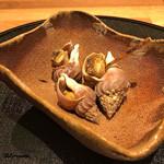 和食 なり - 蝦夷梅貝の煮貝