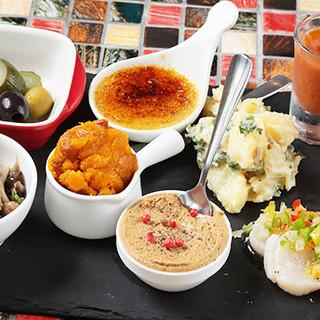 ◇50種類以上◇月イチで通いたい!手作りの本格スペイン料理