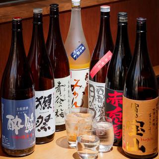 厳選銘酒に舌鼓◎地酒日本酒飲み比べ三種780円で今宵も一杯!