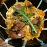 鶏水炊き・焼鳥 健美宴 - 鴨丼アップ