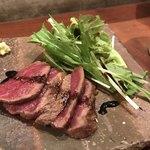 90118763 - 牛のたたきステーキ