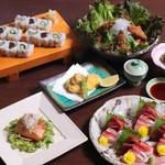 寿司ダイニング心 - 料理写真:3500円コース