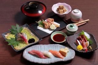 寿司ダイニング心 - 4300円コース