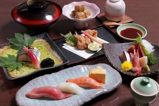 寿司ダイニング心 - 3500円コース