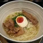 傾奇御麺 - 【(限定) 冷 鶏清湯らーめん 塩】¥850