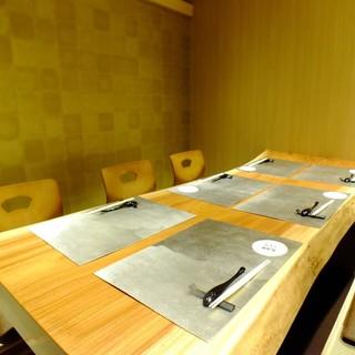 【完全個室完備】ご利用いただける完全個室は広々した空間に。
