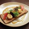 ル・ブルターニュ - 料理写真:ホタテとラタトゥイユのガレット