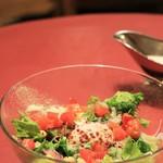 驛の食卓 - 馬車道ハイカラ野菜のシーザーサラダ