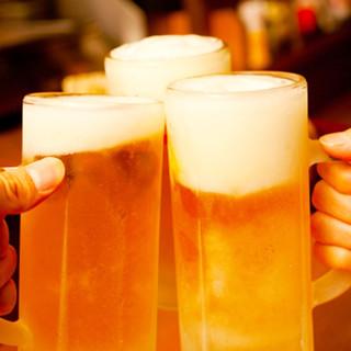 お得な★ハッピー泡ード★ビール300円・ハイボール180円