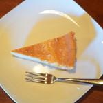 野の亀蔵 - 柚子チーズケーキ