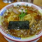 ちばき屋 - 支那そば(醤油)+大盛り