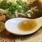 90137342 - スープは鶏ガラ醤油