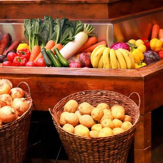千葉県産地場野菜を中心に徹底して低農薬にこだわった野菜