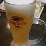 白木屋 - 中生ビール