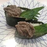 にこにこ寿司 - 蟹味噌