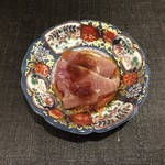すし昇 - 三重県産の鰹のタタキ 地物の玉ねぎを使ったポン酢が美味しいです