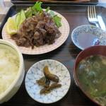 90142202 - 那須和牛「匠」千本すじの焼肉定食