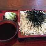 松喜庵 - 天ざる 1,050円