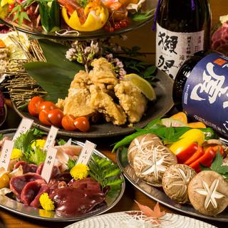 最大3時間飲み放題付き地鶏創作コース2999円!団体様歓迎!