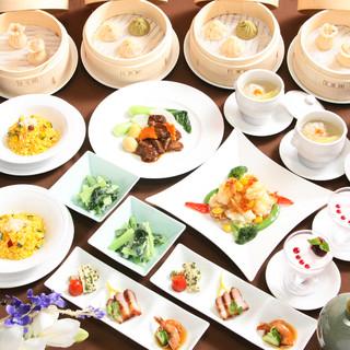 季節の味を楽しめる、台湾の美味が詰まったコース