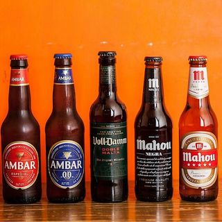 スペインビールを5種ご用意☆