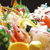 川西の和がや - 料理写真:市場仕入れの豪快刺し盛は人気No1