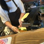 パークストリートカフェ - チーズを新しいものに変えて温めたばかりだからこんもり!