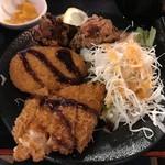 亀屋マル八 - 日替わり定食メインアップ