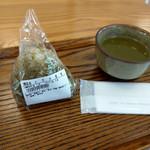 釜炊きおにぎり 筑波山 縁むすび - 料理写真:とろろ昆布のおにぎり~☆