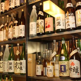 ビギナーから通までご満足いただける日本酒をラインナップ!