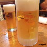新潟屋 - 生ビール