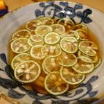 本町製麺所 天 - 酢橘うどん