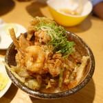 本町製麺所 天 - 小海老天丼