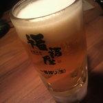 海鮮楽屋 福福屋 福山南口駅前店 - 生ビール