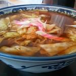 釜彦 - スープ入焼きそば大盛