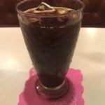 丘 - セットのアイスコーヒー