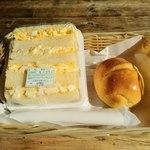 La・sante - 料理写真:サンドイッチとロールパン