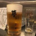 ROBATA幸 2nd - 「男のYEBIS生ビール」1280円